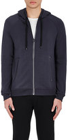 Barneys New York MEN'S COTTON-BLEND ZIP-FRONT HOODIE