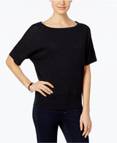 MICHAEL Michael Kors Textured Metallic Dolman Sweater