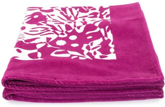 Eres Prawn Print Beach Towel