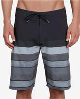 "Volcom Men's Lido Striped Stretch 21"" Board Shorts"