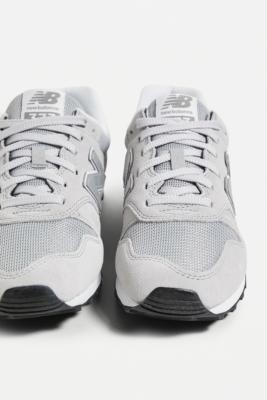 New Balance 393 Grey and Silver Trainers - Grey UK 7 at Urban Outfitters