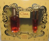 Revlon Ciara Perfume by for Women, 2 Pcs Gift Set (1.0 Oz Concentrated Cologne Spray (80 Strength) + 0.3 Oz Eau De Parfum Spray Mini Travel Size) By