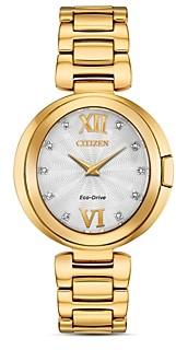 Citizen Capella Diamond Watch, 34mm