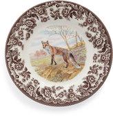 Spode Woodland Fox Salad Plates, Set of 4
