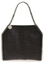 Stella McCartney 'Small Falabella' Woven Faux Leather Tote - Black