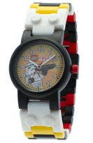 Lego Kids' 9002922 Star Wars Storm Trooper Watch With Minifigure