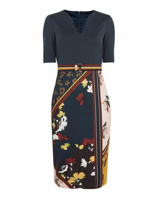 Ted Baker Madiiy Savanna Bodycon Dress