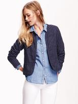 Old Navy Quilted Open-Front Jacket