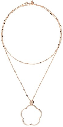 Pasquale Bruni 18kt rose gold Bon Ton diamond pendant necklace
