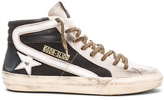 Golden Goose Deluxe Brand Black Nabuk Slide