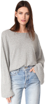 Elizabeth and James Everest Wide Boat Neck Sweater