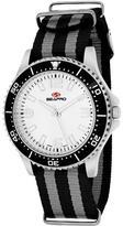 Seapro SP5417NBK Women's Tideway Black & Gray Nylon Watch