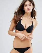 Lipsy Black Bikini Top