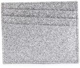 Maison Margiela glitter panel cardholder - men - Calf Leather - One Size
