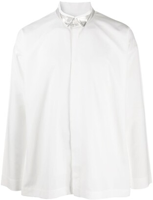 Homme Plissé Issey Miyake Buttoned Long Sleeve Shirt