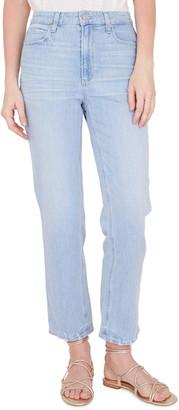 Paige Noella High Waist Straight Leg Jeans