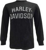 Harley-Davidson Men's Shirt, Heritage HD Script Long Sleeve 30296633 (3XL)
