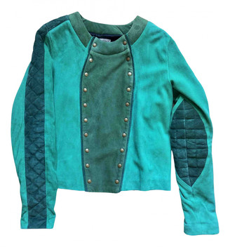 Heimstone Green Leather Leather jackets