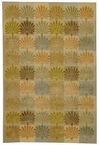 Martha Stewart Sanctuary Oasis Silk/ Wool Rug (5' 6 X 8' 6)