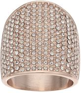 JLO by Jennifer Lopez Simulated Crystal Pave Dome Ring