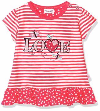 Salt&Pepper Salt and Pepper Baby Girls' B T-Shirt Wild Stripe Love