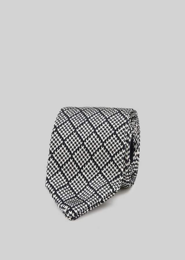 Giorgio Armani Pure Silk Jacquard Tie