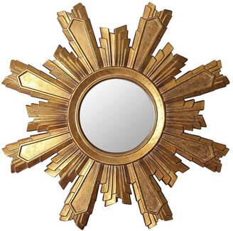 Abbyson Living Nevada Gold Sunburst Wall Mirror