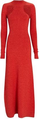 Victor Glemaud Cut-Out Merino Wool Sweater Dress