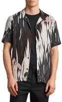 AllSaints Nahiku Slim Fit Sport Shirt