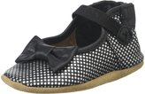 Robeez Spotted Shannon Mary Jane (Infant) - Black - 12-18 Months