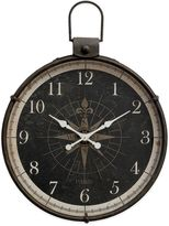 Bed Bath & Beyond Compass Image Metal Clock