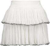 Isabel Marant Waida tiered silk-chiffon mini skirt