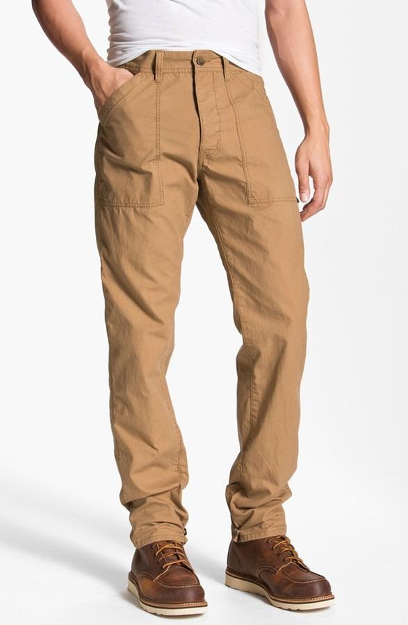 Diesel 'Punstedt' Straight Leg Chino Pants