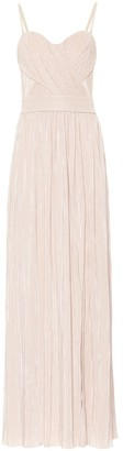 Jonathan Simkhai Rory plisse bustier gown