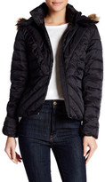 Joe Fresh Quilted Faux Fur Trimmed Jacket