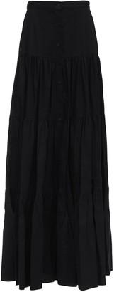 Brock Collection Ruffled Cotton Poplin Skirt