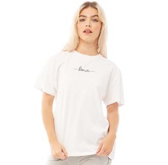 Bench Womens Abelia T-Shirt White