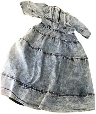 Ulla Johnson Grey Denim - Jeans Dresses