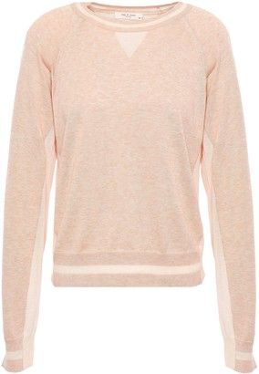 Rag & Bone Kento Melange Pima Cotton Sweater