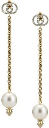 Gucci Faux-Pearl Drop Earrings