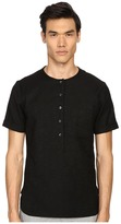 Matiere Maas Japanese Textured Slub Tunic Men's Clothing