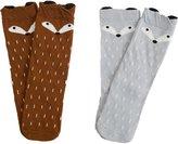 JIEYA Baby Toddlers Boys Girls Cartoon Printed Knee High Socks Stockings Pack of 2-Assorted Color (0-1Y, )
