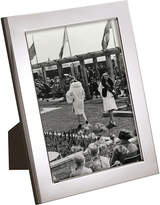 Carrs of Sheffield Flat Series silver-plated picture frame 6 x 4, Silver