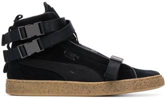 Puma Buckled Hi-Top Sneakers