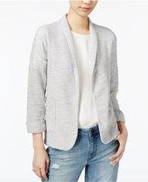 Maison Jules Three-Quarter-Sleeve Knit Blazer, Created for Macy's