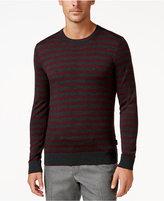 Michael Kors Men's Stripe Merino Wool Sweater