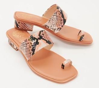 Vince Camuto Toe Loop Heeled Sandals - Yelinda