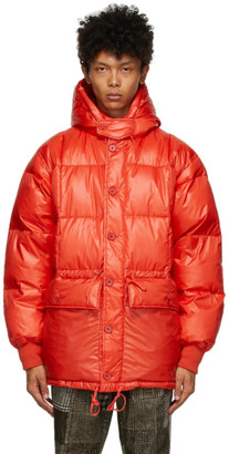 Beams Red Down Expedition Parka