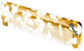 Fine Tooth Comb - Gold + White by Bixby Brand (5in Comb)