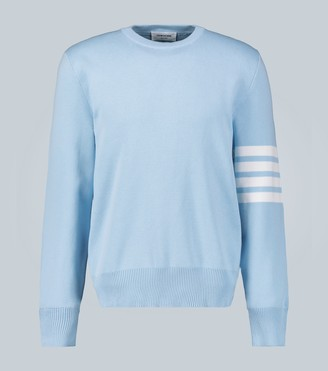 Thom Browne 4-Bar cotton pullover sweater